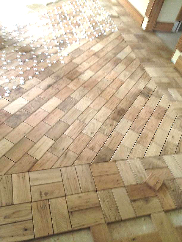 Barnwood Bricks Flooring Reclaimed Wood Tiles