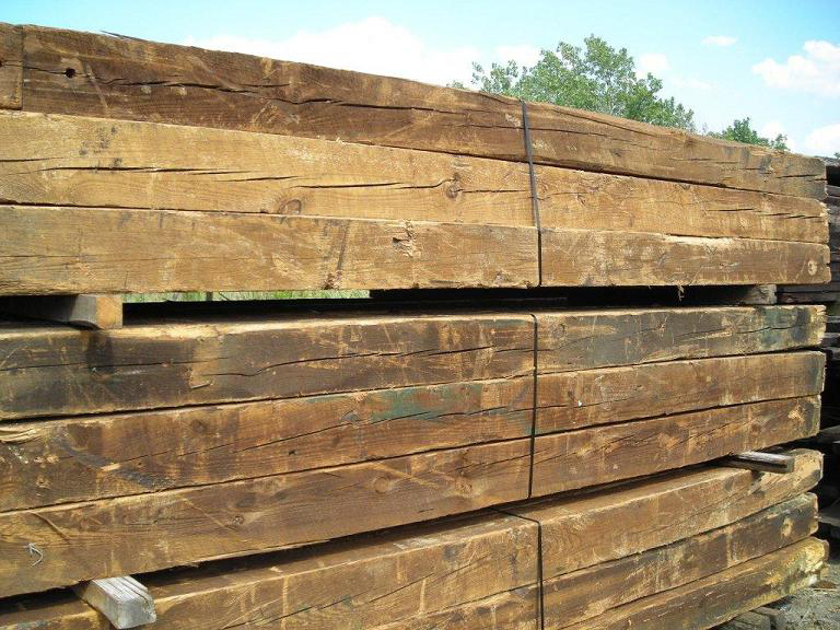 Reclaimed barn lumber nc wormy chestnut beams antique