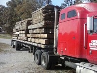 Truckload Reclaimed Lumber