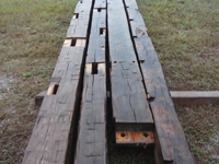 Hand Hewn Beams Four Sided
